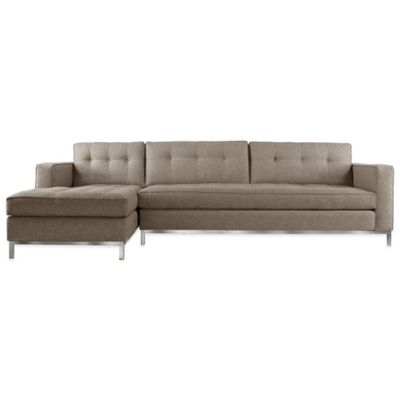 Kyle Schuneman for Apt2B Fillmore 2-Piece Left Arm Facing Sectional in Charcoal
