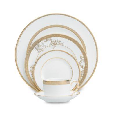 Vera Wang Wedgwood® Vera Lace Gold 5-Piece Place Setting
