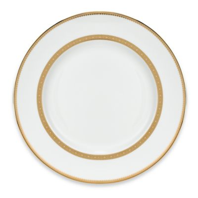 Vera Wang Wedgwood® Vera Lace Gold Dinner Plate