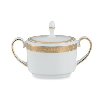 Vera Wang Wedgwood® Lace Gold Sugar Bowl