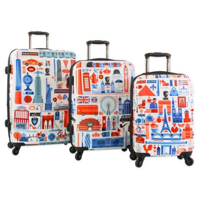 Heys® FVT Cities 3-Piece Expandable 4-Wheel Spinner Upright Luggage Collection