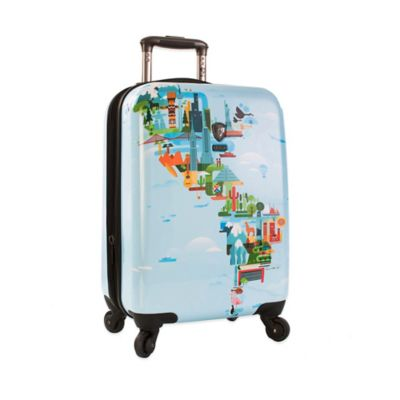Heys® FVT World Map 21-Inch Upright Spinner