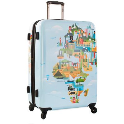 Heys® FVT World Map 30-Inch Upright Spinner