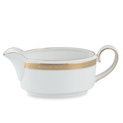 Vera Wang Wedgwood® Vera Lace Gold Gravy Boat