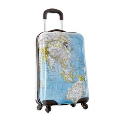 Heys® Journey Maps 21-Inch 4-Wheel Spinner Upright Luggage