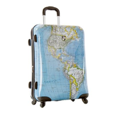 Heys® Journey Maps 26-Inch Expandable 4-Wheel Spinner Upright Luggage