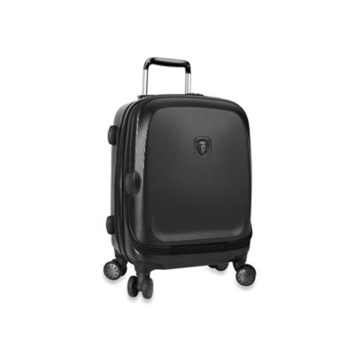 Heys® Gateway 21-Inch Smart Luggage Widebody Upright Spinner in Black