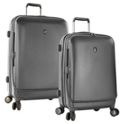 Heys® Portal SmartLuggage™ 30-Inch Expandable 8-Wheel Spinner Upright Luggage in Slate Blue