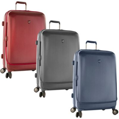 Heys® Portal SmartLuggage™ 30-Inch Expandable 8-Wheel Spinner Upright Luggage in Burgundy