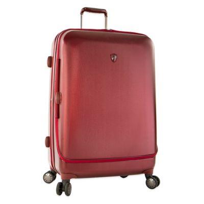 Heys® Portal SmartLuggage™ 30-Inch Expandable 8-Wheel Spinner Upright Luggage in Burgundy