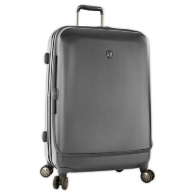 Heys® Portal SmartLuggage™ 30-Inch Expandable 8-Wheel Spinner Upright Luggage in Pewter