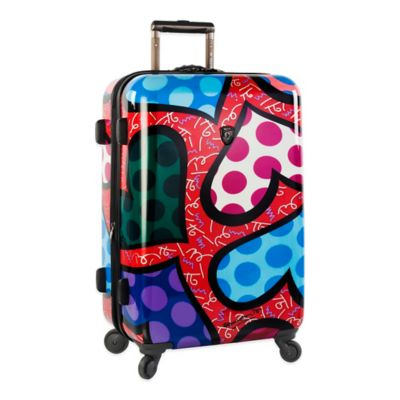 Heys® Britto Hearts Carnival 26-Inch Upright Spinner