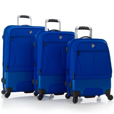 Heys® AirLite II® 3-Piece 4-Wheel Spinner Upright Luggage Set in Cobalt