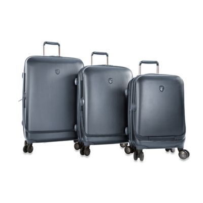 Blue Spinner Luggage