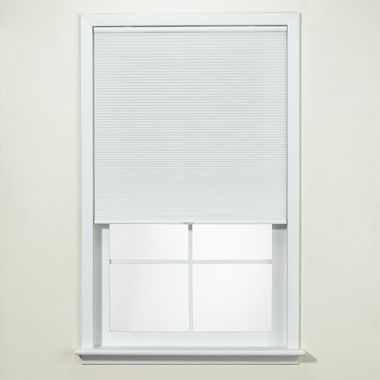 White Honeycomb Cordless Cellular Shade