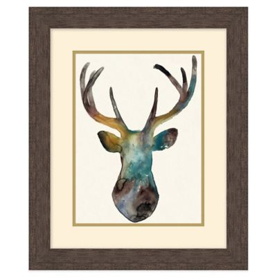 Deer Silhouette 1 Wall Art