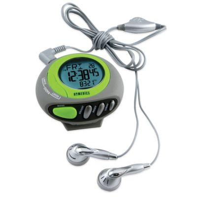 HoMedics® 3D Deluxe Pedometer with FM Radio