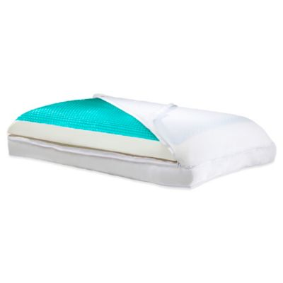 Comfort Revolution® Lifestyle Now 3-in-1 Reversible Pillow