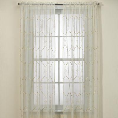 Croscill® Cavalier 63-Inch Sheer Window Curtain Panel