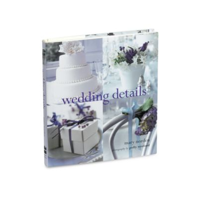 Wedding Details Book by Mary Norden