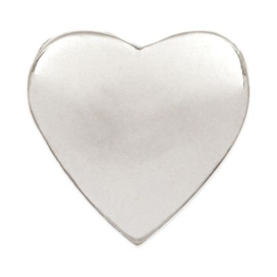 Personality Sterling Silver Heart-Shaped Stopper Bead