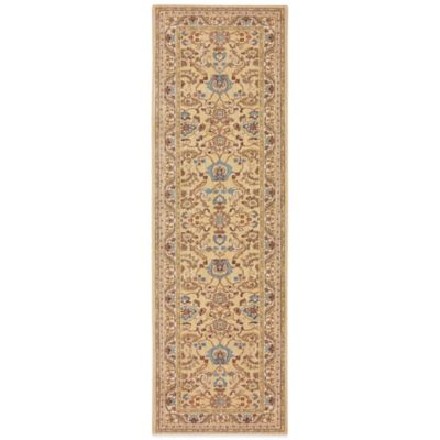 Karastan Sierra Mar Ventana 5-Foot x 4-Foot Rug in Maize