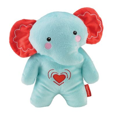 Fisher-Price® Calming Vibrations Cuddle Soother Elephant in Turquoise/Red