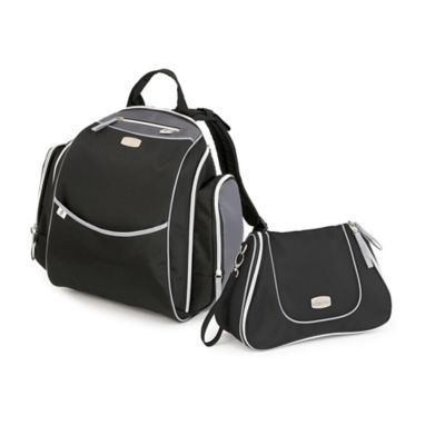 Chicco® Urban Backpack & Dash Diaper Bag in Black