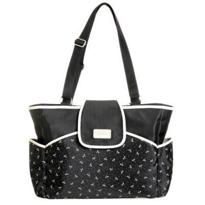 Carter's® Carry It All Flap Fashion Diaper Bag in Dragon Fly
