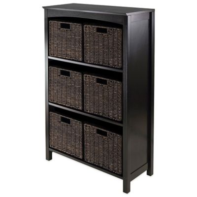 Basket Shelves Unit