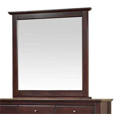 Modus Furniture City II 43-Inch Square Wall Mirror in Coco