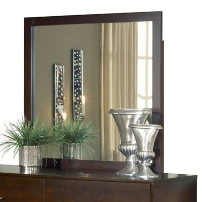 Modus Furniture Modera Mirror in Chocolate Brown