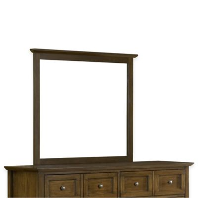 Modus Furniture Paragon 36-Inch x 41-Inch Rectangular Wall Mirror in Truffle