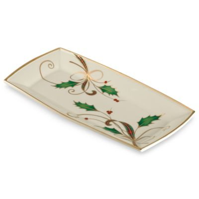 Lenox® Holiday Nouveau Fingertip Towel Tray