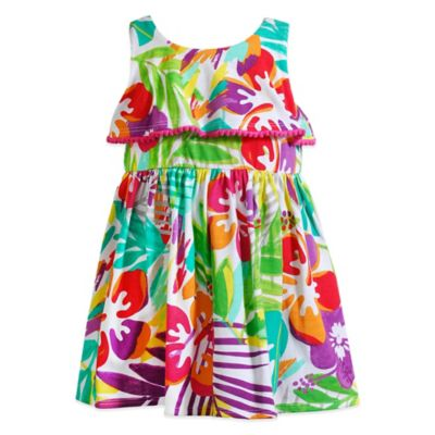 Sweet Heart Rose® Size 24M Floral Sundress