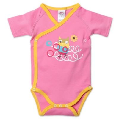 Zutano® Itzy Bitzy Owls Newborn Short Sleeve Bodysuit