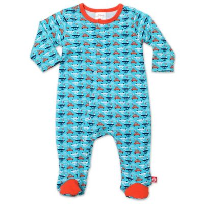 Zutano® Newborn Vroom Footie in Pool