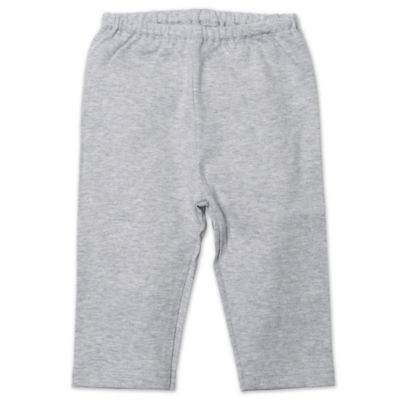Zutano® Newborn Pull-On Pant in Heather Grey