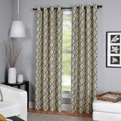 Creston 84-Inch Window Curtain Panel in Green