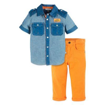 Petit Lem Shirt and Pant Set