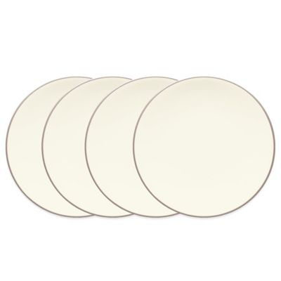 Colorwave Mini Plates 4-Piece Set in Clay