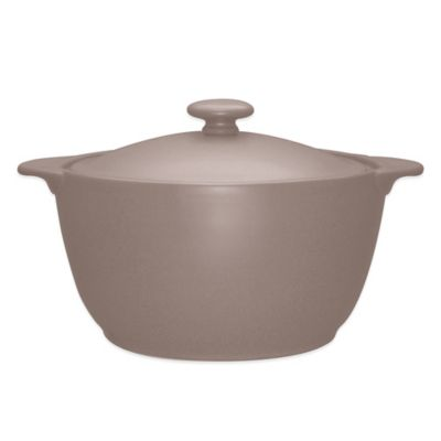 Noritake® Colorwave Covered Casserole in Clay