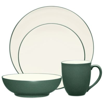 Noritake® Colorwave 4-Piece Coupe Place Setting in Spruce