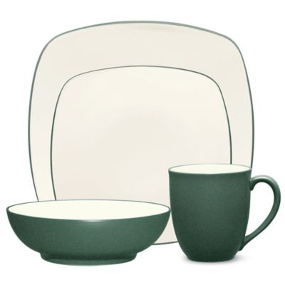 Noritake® Colorwave 4-Piece Square Place Setting in Spruce