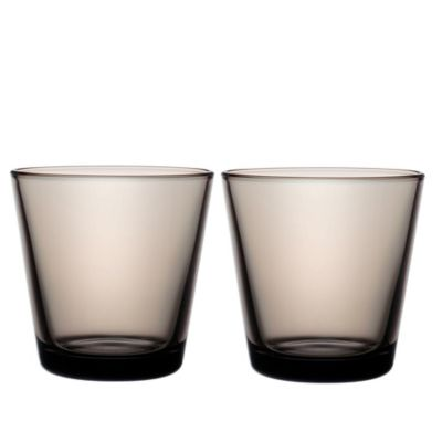 Iittala Kartio 7 oz. Tumblers in Sand (Set of 2)