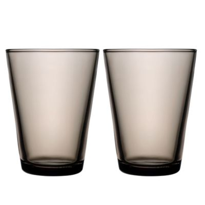 Iittala Kartio 13.5 oz. Tumblers in Sand (Set of 2)