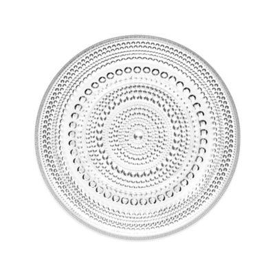 Iittala Kastehelmi Dessert Plate in Clear
