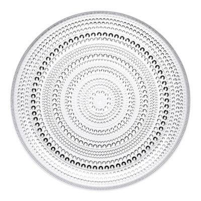 Iittala Kastehelmi Dinner Plate in Clear