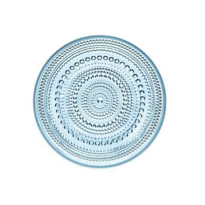 Iittala Kastehelmi Dessert Plate in Light Blue