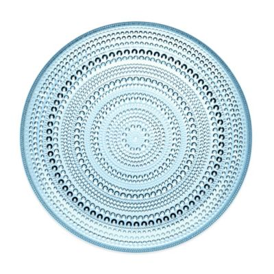 Iittala Kastehelmi Dinner Plate in Light Blue